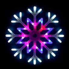 Снежинка световая [40x40 см] Uniel ULD-H4040-048 ULD-H4040-048/DTA MULTI IP20 SNOWFLAKE